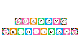 happy birthday printable banner best business template