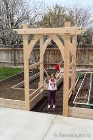 Garden Arch Plans by Více Než 25 Nejlepších Nápadů Na Pinterestu Na Téma Garden Arch