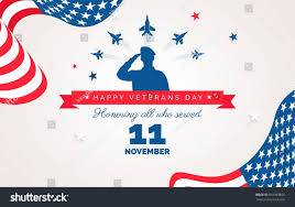 With All Flags Flying Happy Veteran Day Flyer Banner Poster Stock Vector 501363865