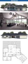 One Story House Plans Cathedral Ceilings Small House Floor Plan With Open Planning Vaulted Ceiling Three