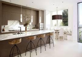 marron cuisine cuisines cuisine minimaliste blanc marron 23 idées pour la