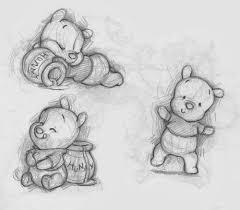 baby winnie pooh sketches sketches drawings