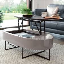 Lift Up Coffee Table Pod Lift Up Coffee Table Gloss And Darkwood Dwell