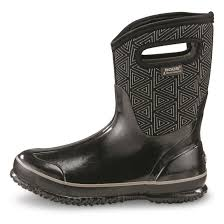 bogs s boots size 9 bogs s triangles mid rubber boot 700765 rubber
