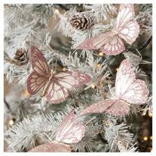 buy butterfly christmas tree decorations 4 pack from our all