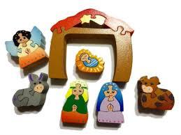 wooden nativity set wooden nativity puzzle set 7 puzzles caribbean puzzles usa