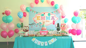 interior design amazing owl themed birthday party decorations