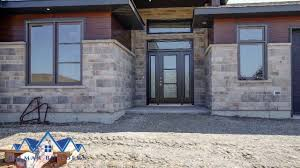 contemporary ranch slab on grade belmar builders youtube