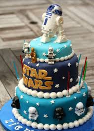 kids star wars cakes ideas png
