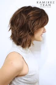undercut bob beautifully brunette soft undercut ramirez tran salon