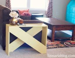 Making Wooden End Table by Best 25 Cheap End Tables Ideas On Pinterest Cheap Footstools