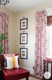 garden suite curtain reveal and tutorial inspired by charm