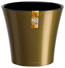 santino self watering planter arte flower pot contemporary