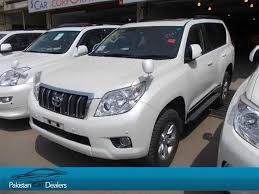 toyota dealers used cars for sale pakistan car dealers used car ad of toyota prado from liberty