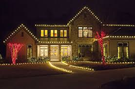 wall mounted outdoor christmas lights outdoor christmas lights ideas for the roof with regard to on house
