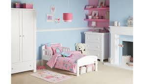 country toddler bed in white kids beds george at asda