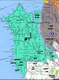 seattle map by district seattle district 1 council 34th district democrats