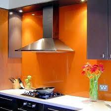 Painted Glass Backsplash Ideas by 61 Best Ideas Backsplashes Images On Pinterest Kitchen Ideas