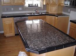 Tile Kitchen Countertop Designs Marble Tile Counter Top Best Tiles For Countertops Images