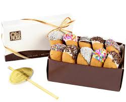 cookie gift boxes chocolate dipped honey cookies gift box rosh hashanah gifts oh