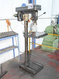 ajax model ajpd25 pillar drilling machine on auction now at apex