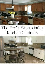 easiest way to paint kitchen cabinets the easier way to paint kitchen cabinets just call me homegirl