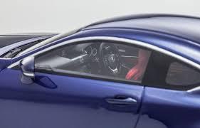lexus rcf blue 1 18 lexus rcf blue rhd