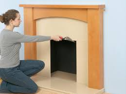 installing a marble hearth and wooden fireplace surround how tos