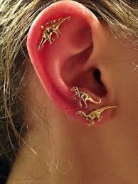 earrings on top of ear beautiful top ear piercing for girl ear image images