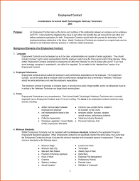 employment agreement template employment agreement contracts