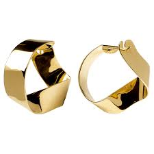 earrings gold gravity gold earrings p d