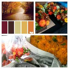 34 wedding color themes autumn sunset images