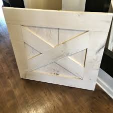 custom made rustic barn door style baby u0026 dog gate pickled
