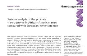 prostate cancer racial disparities and vitamin d3