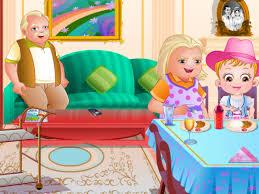 Baby Hazel Room Games - baby hazel granny house