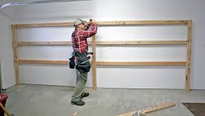 Wooden Shelves Making by Ana White Easy And Fast Diy Garage Or Basement Shelving For Tote