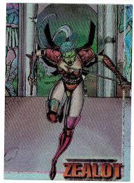 s w i l d c a t s trading cards zealot foil card 1995