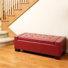 Simpli Home Avalon Storage Ottoman Ideas Collection Leather Storage Bench With Simpli Home Avalon