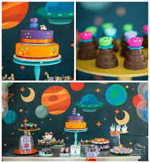 Home Party Decor Home Inspired Alien Birthday Party Via Kara U0027s Party Ideas The