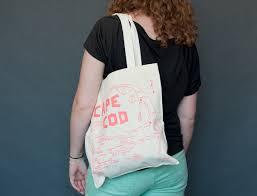 maptote cape cod grocery tote
