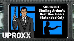 Archer Johnny Bench Called Supercut Sterling Archer U0027s Best One Liners Extended Version