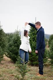 vivian and ron u0027s christmas tree engagement lancaster wedding and