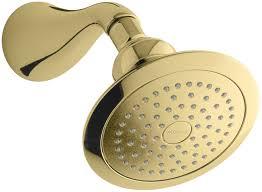 fresh brass shower head home depot 5693