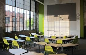 Classroom Stacking Chairs Emeco Broom Stacking Chairs The New Baltimore Design