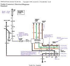 trailer light wiring diagram 1989 ford truck aerostar v6 183 3 0l