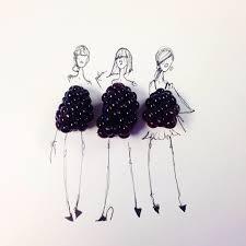 broccoli city u2013 fashion illustrator completes her dress sketches