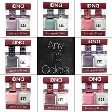 dnd daisy duo uv gel uv nail polish any 10 colors usa made ebay