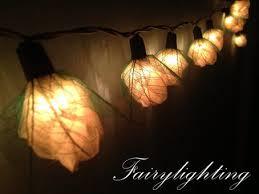 String Of Flower Lights by Flower Fairy Lights On The Hunt