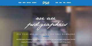 personal portfolio template free portfolio website templates psd css author