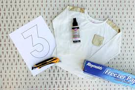 personalized diy kids birthday shirt idea make it together